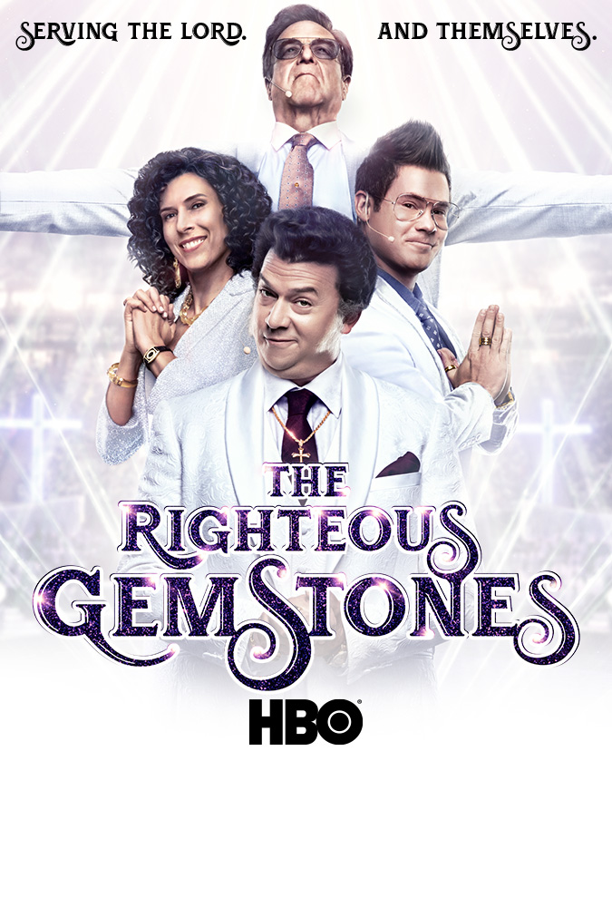 When I say 'church' and 'tithing', you might think of Tammy Faye and Jim. Or the Righteous Gemstones …