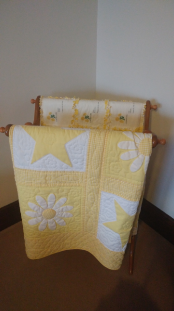 The quilt in question. Nice, right?