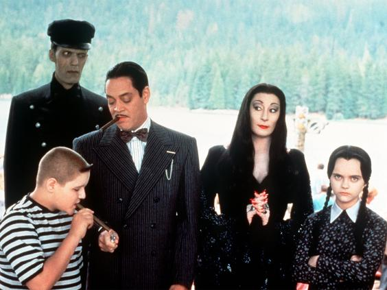 The only camp where cool rules is one where the Addams Family is in attendance. Image courtesy The Independent